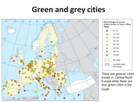 Green and grey cities