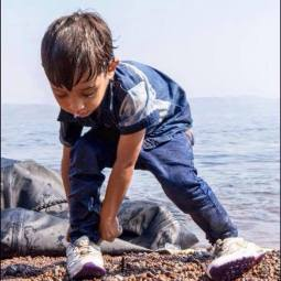 Syrian-Boy-in-Lesvos-Greece